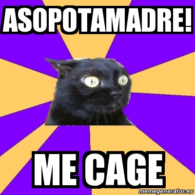 25383810 meme anxiety cat asopotamadre! me cage 25383810