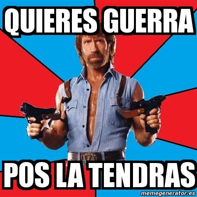 Meme Chuck Norris - QU...