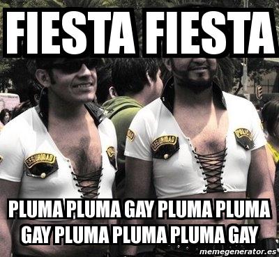 Fiesta Fiesta Pluma Pluma Gay 42