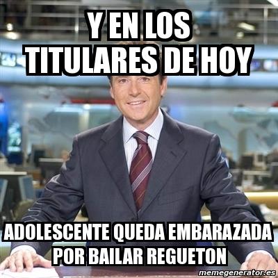 Meme Matias Prats - y EN LOS TITULARES DE HOY ADOLESCENTE ...