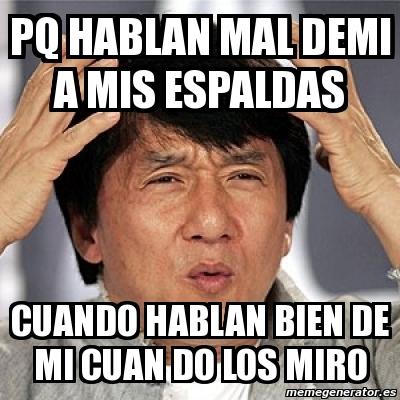 Meme Jackie Chan - PQ ...