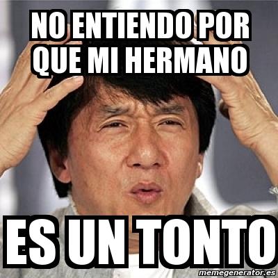 Meme Jackie Chan - no ...