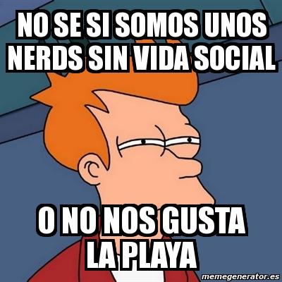 Nerd sin vida social