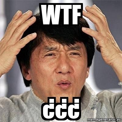 Meme Jackie Chan - Wtf ¿¿¿ - 714772