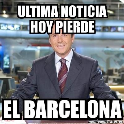 Meme Matias Prats Ultima Noticia Hoy Pierde El Barcelona 817123
