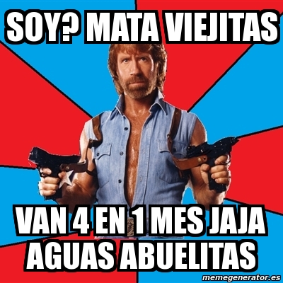 Meme Chuck Norris - SO...