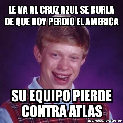 Memes De Que Perdio El America