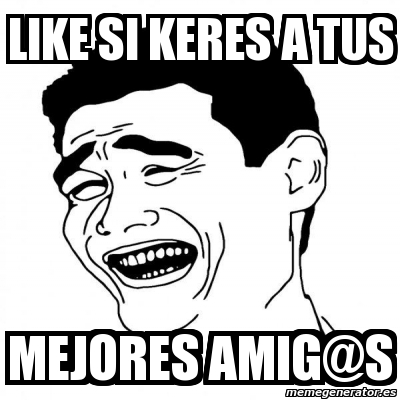 Meme Yao Ming 2 Like Si Keres A Tus Mejores Amig At S 1592791