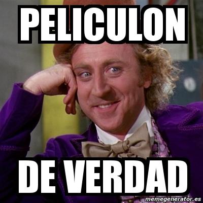 Resultado de imagen de Peliculon meme