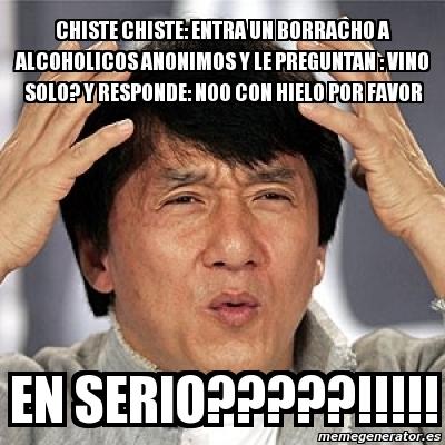 Meme Jackie Chan - chi...
