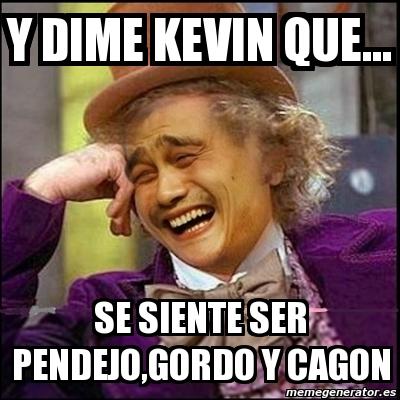 Kevin gordo