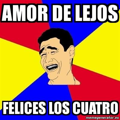 Meme Yao Ming Amor De Lejos Felices Los Cuatro 12374474