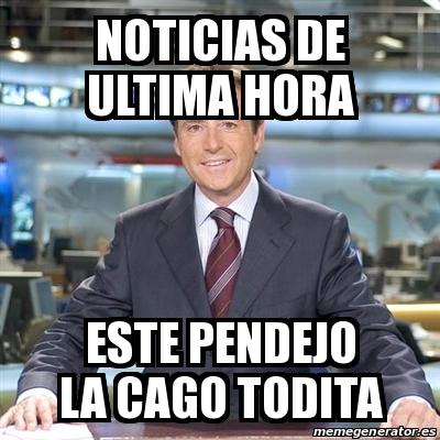 Meme Matias Prats Noticias De Ultima Hora Este Pendejo