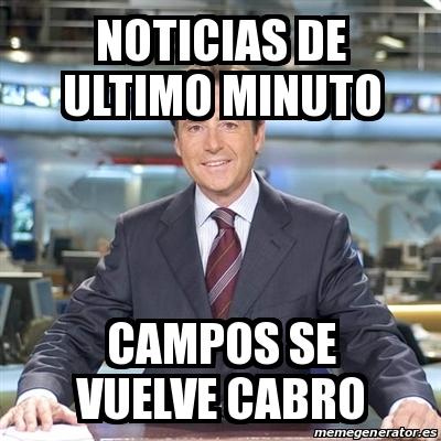 Meme matias prats noticias de ultimo minuto campos se Noticias de ultimo momento espectaculos