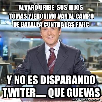 Meme Matias Prats - alvaro uribe, sus hijos tomas ...