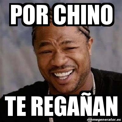 chino por
