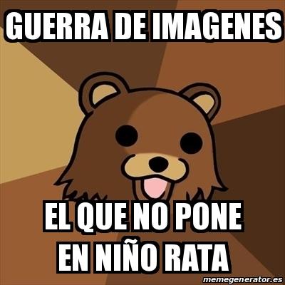 Meme Pedobear - guerra de imagenes el que no pone en niño rata ...