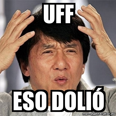 Meme Jackie Chan - Uff...