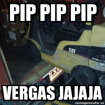 Meme Personalizado - Pip pip pip Vergas jajaja - 17423933