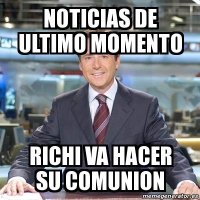 Meme matias prats noticias de ultimo momento richi va for Noticias de ultimo momento espectaculos