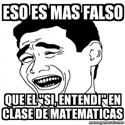 Meme Yao Ming 2 Eso Es Mas Falso Que El Si Entendi En Clase