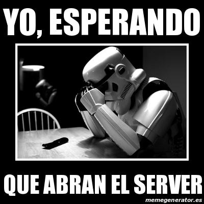 abran! el Server! 18003025