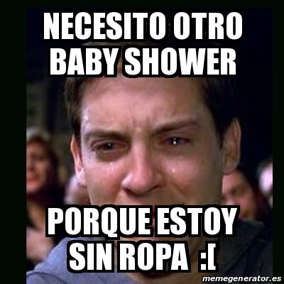 Necesito Otro Baby Shower Porque Estoy Sin Ropa :[
