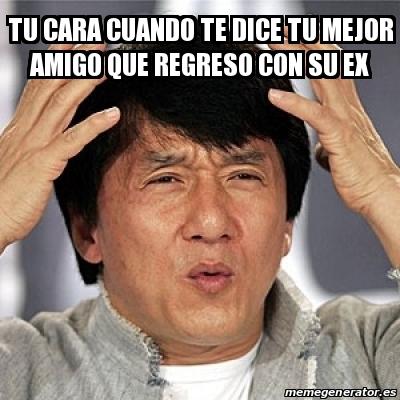 Meme Jackie Chan - tu ...