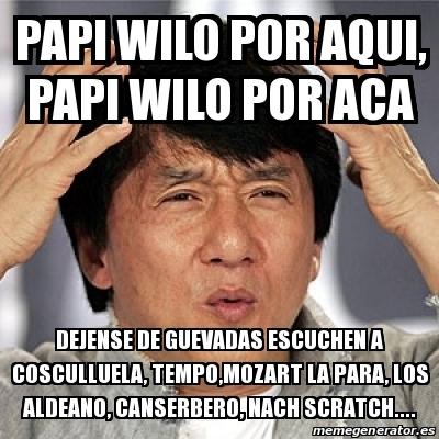 Meme Jackie Chan - pap...