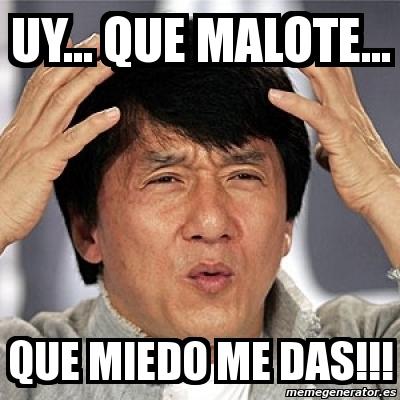 Meme Jackie Chan - Uy....