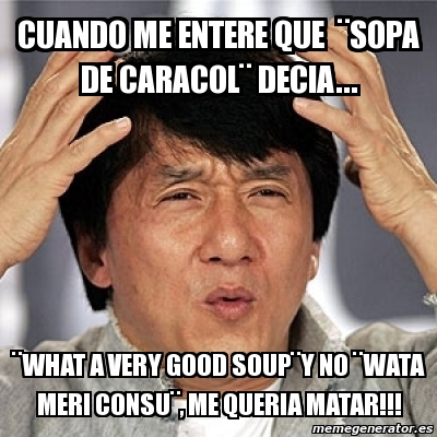 Meme Jackie Chan - cua...