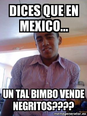 Negrito Bimbo Meme