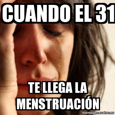 Cuando llega la menstruacion