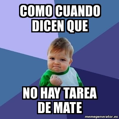 what does no hay tarea mean