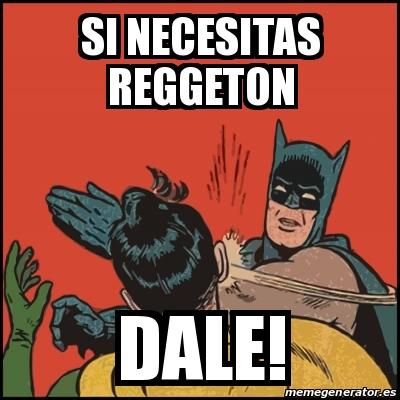 Si necesita reggaeton dale Tumblr