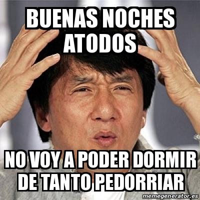 Meme Jackie Chan - Bue...