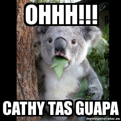 Meme Koala Ohhh Cathy Tas Guapa 21417990 - Fotos-de-tas-guapas