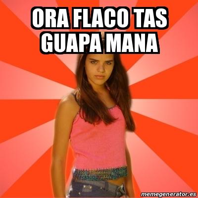 Meme Jealous Girl Ora Flaco Tas Guapa Mana 21443395 - Fotos-de-tas-guapas
