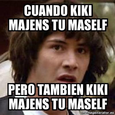 Meme Keanu Reeves - CU...