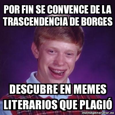 Resultado de imagen de memes literarios