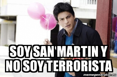 SOY SHENIEL Y NO SOY TERRORISTA