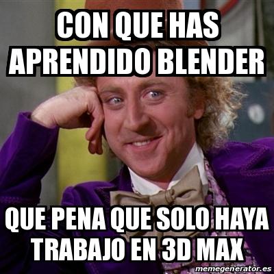 Blender 3d español