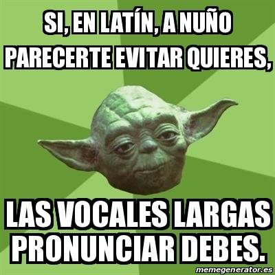 Vocales Largas En Latin 78
