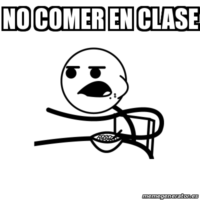 Meme Cereal Guy No Comer En Clase 25413316