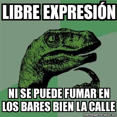 Meme filosoraptor libre expresi n ni se puede fumar en for Se puede fumar en las piscinas