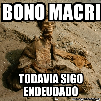 La deuda externa argentina superó los USD 200 mil millones