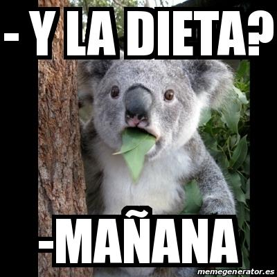 dieta en la mañana