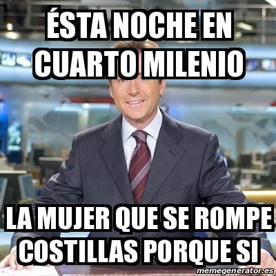Meme Matias Prats - Ésta noche en cuarto milenio La mujer que se ...