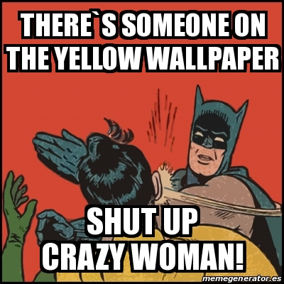 Meme Batman Slaps Robin Theres Someone On The Yellow
