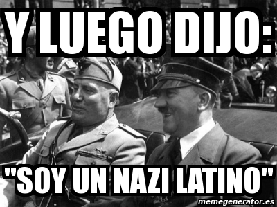 A la mierda con los punks nazis